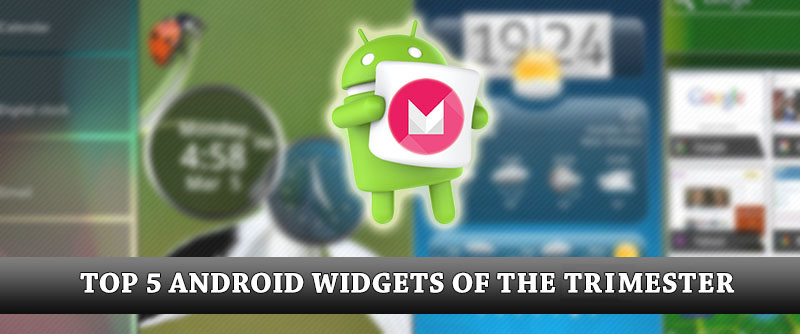 TOP 5 ANDROID Widgets 2016