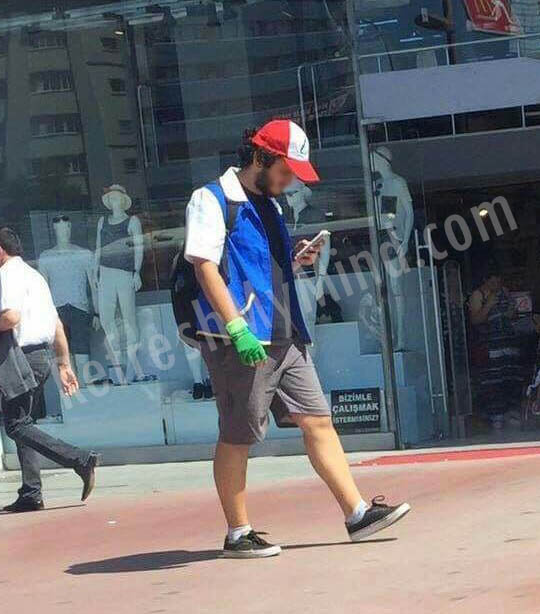 Pokémon Go - ash ketchum in real life - Turkey