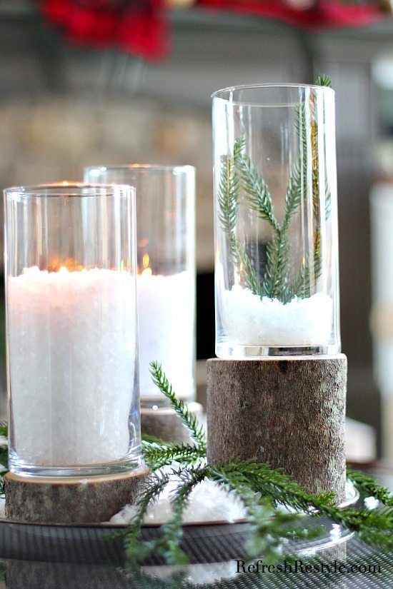 Tree Dollar Diy Candles