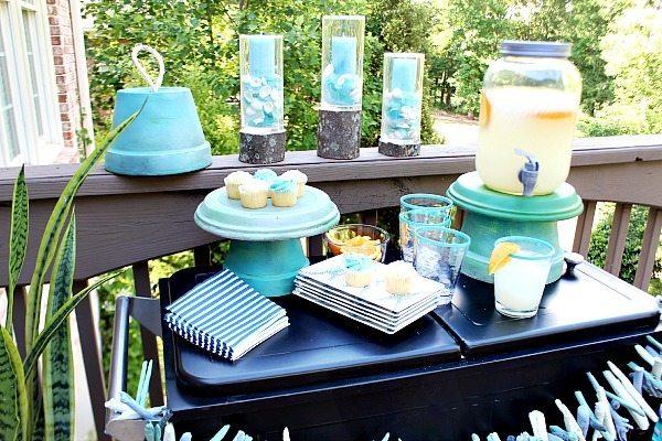 Clay pot serving pieces