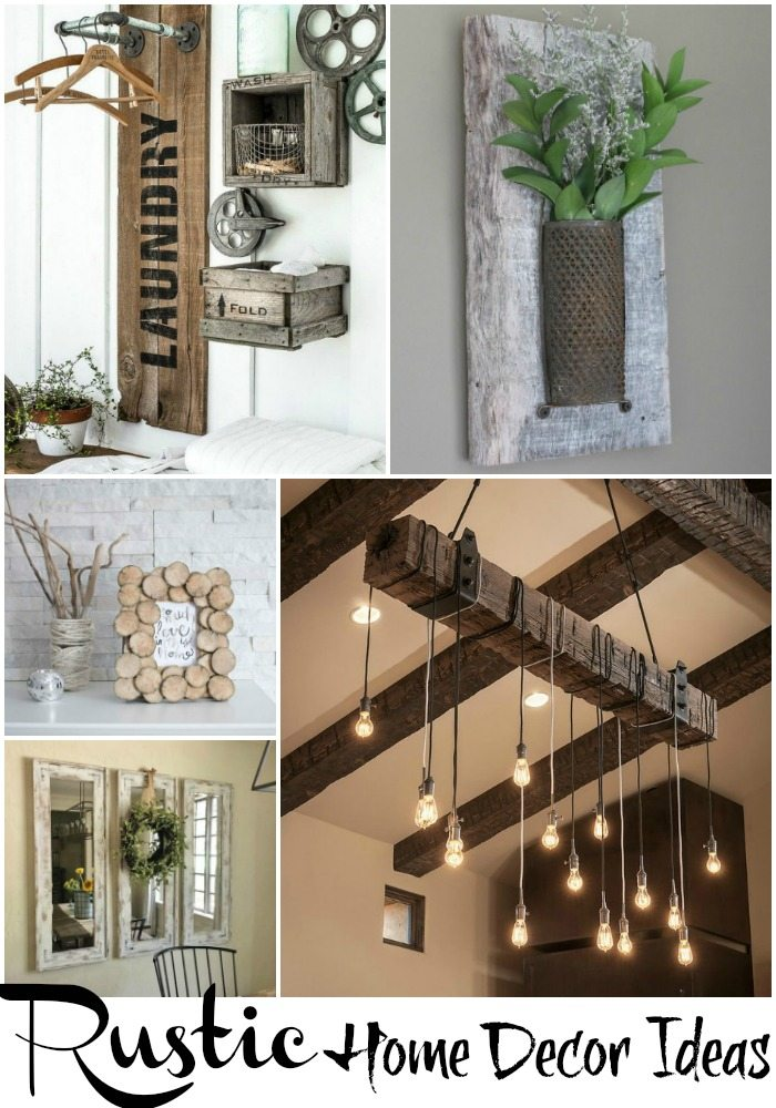 Rustic Home Decor Ideas | Refresh Restyle on Rustic Traditional Decor  id=79180
