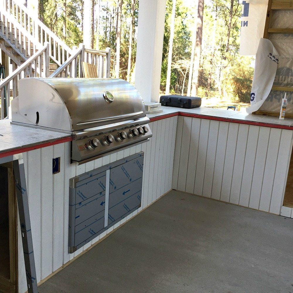 Outdoor Kitchen Build Refresh Restyle