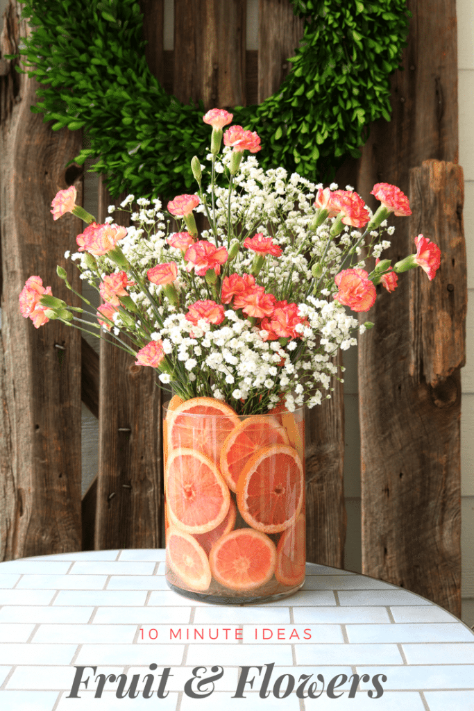 DIY Fruit Amp Floral Arrangement Refresh Restyle