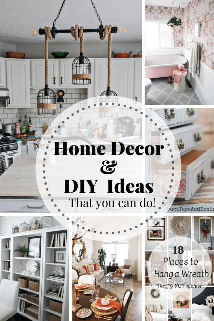 Home decor & DIY ideas