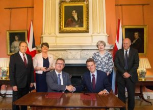 DUP Tory alliance