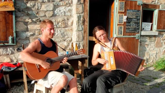 musiciens au Festi'Valier