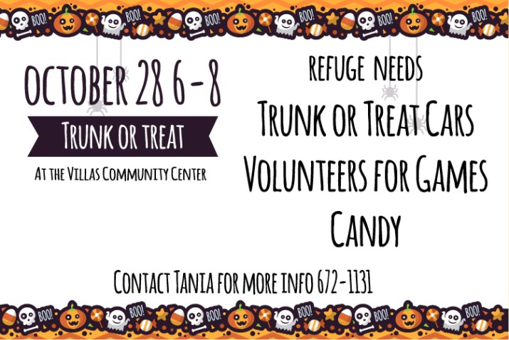 Refuge Trunck or Treat 2017
