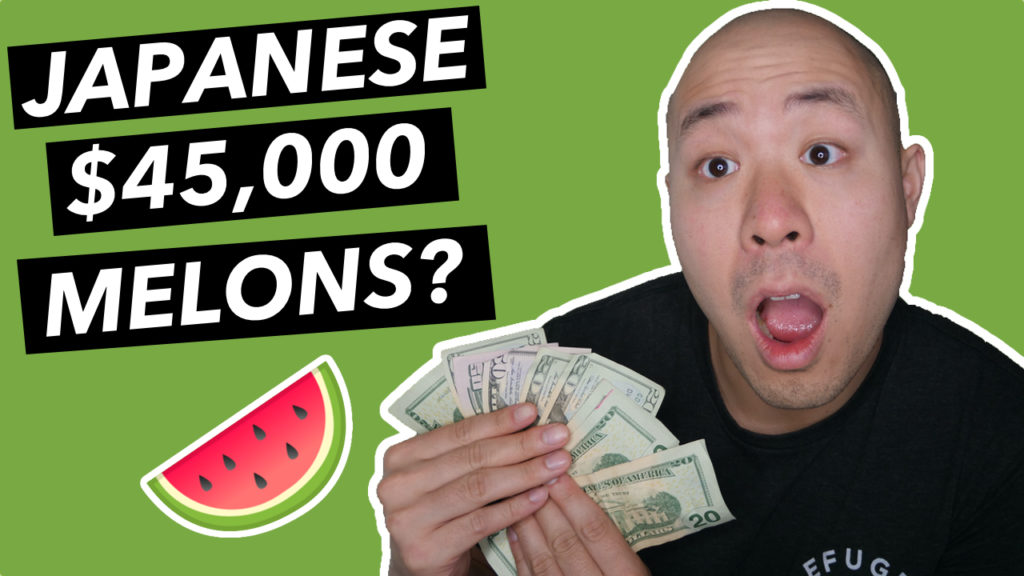 Why do people buy expensive Japanese fruits?
