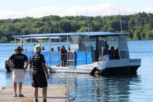 Arriving on Refugee Island, Brockville