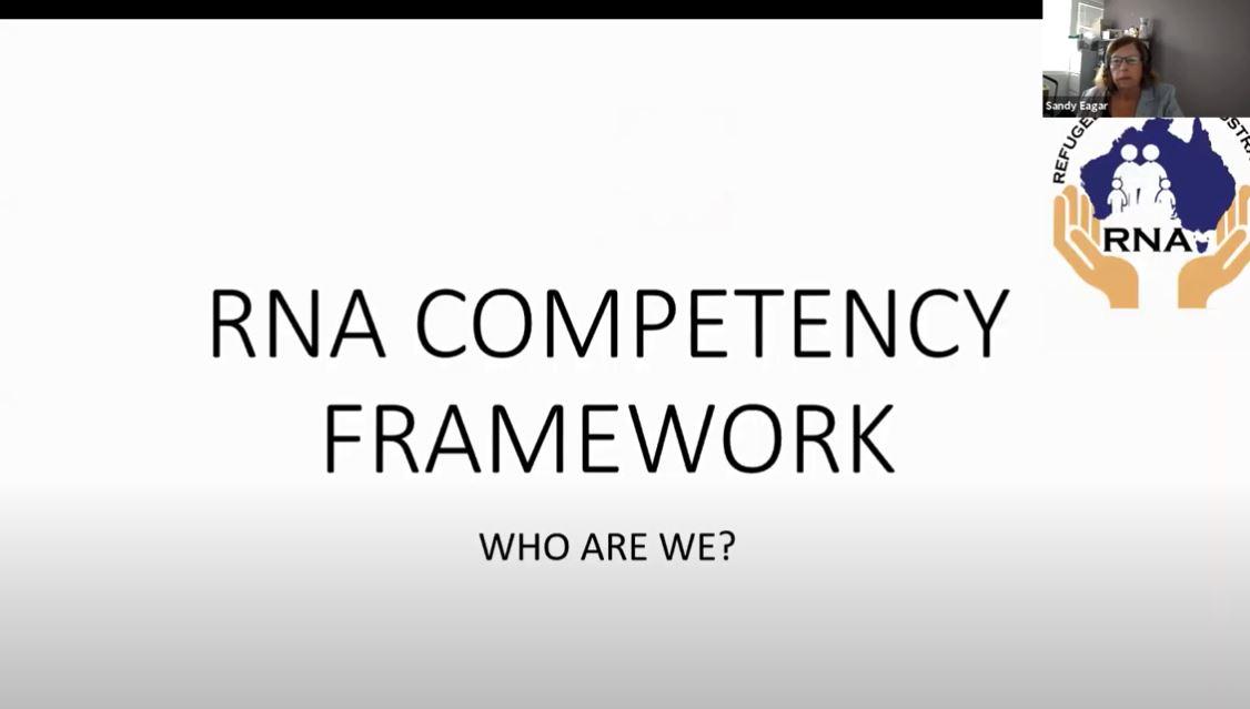 RNA Competency Framework Forum 2020