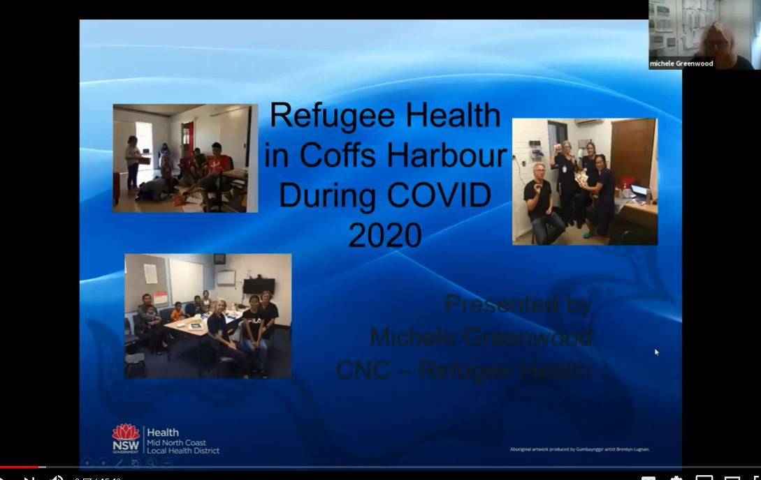 Refugee Health in Coffs Harbour during COVID 2020
