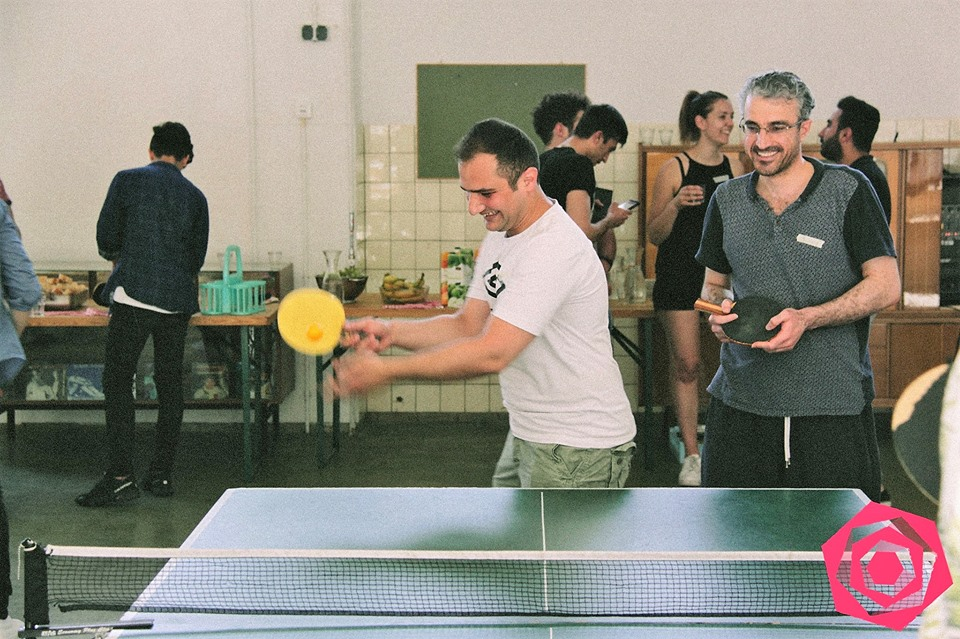 Intercultural Ping Pong Match @ WE Festival 2017