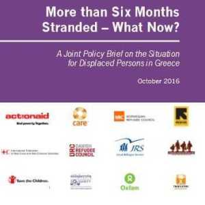 """""""More Than Six Months Stranded-What Now?"""""""
