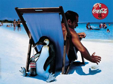 anuncios gráficos coca cola