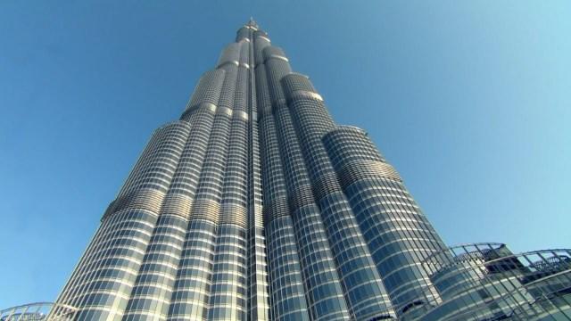 El edificio má alto del mundo, el Burj Khalifas enDubai