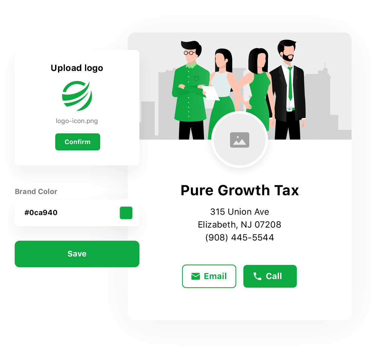 Virtual Tax Business Customization