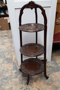 antique wooden stand