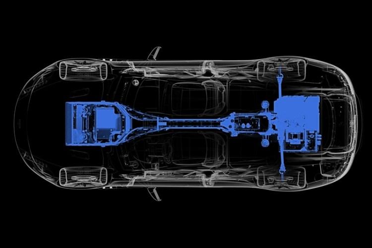 aston martin Rapide E motor diagrama