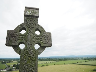 Cruz celta en Rock of Cashel