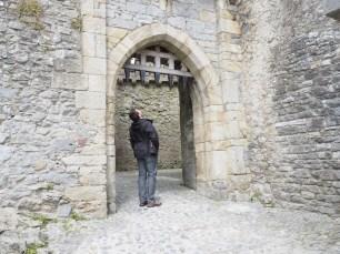 Entrada a Cahir Castle