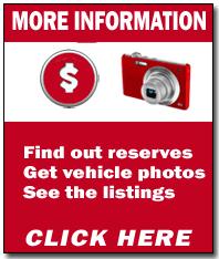 Repossessed cars