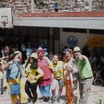 Payasos Rebeldes en el Simoncito Los Mangos II