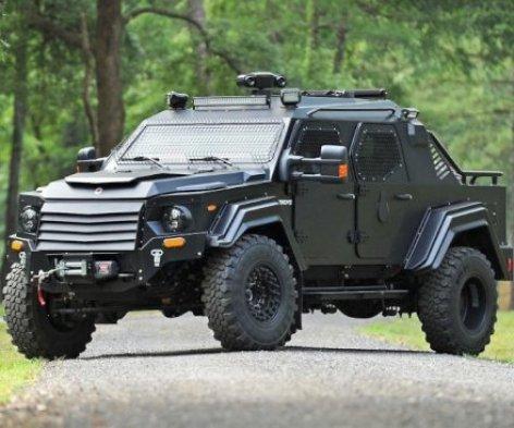 Oggetti Fantastici  ArmoredVehicleForCivilians-Regalo Veicolo corazzato Civ by Terradyne