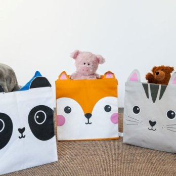 Casa & Ufficio Gadget Guide Regali per Donna Regali per Ragazzi Regali per uomo  CestePortaGiochiAnimali-Panda-Regalo 10 idee regalo originali a meno di 20€ per Natale