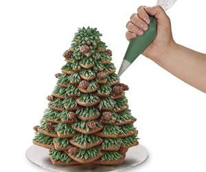 Casa & Ufficio Feste e Anniversari  GingerbreadCookieTreeCutterSet-Regalo Set 15 formine a stella per dolci
