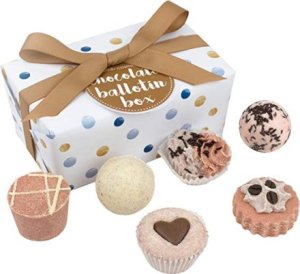 Regali per Donna  BombCosmeticscioccolatoBallotinassortimentodiBathGif-Regalo Set da bagno a forma di cioccolatini