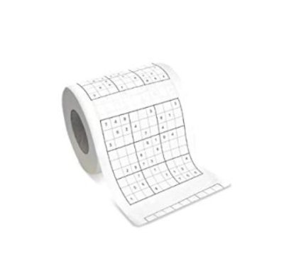 Casa & Ufficio Gadget  CartaigienicaSudoku-Regalo Carta igienica Sudoku