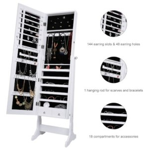 Casa & Ufficio Regali per Donna  JewelryCabinetMirror-Regalo Specchio Armadio