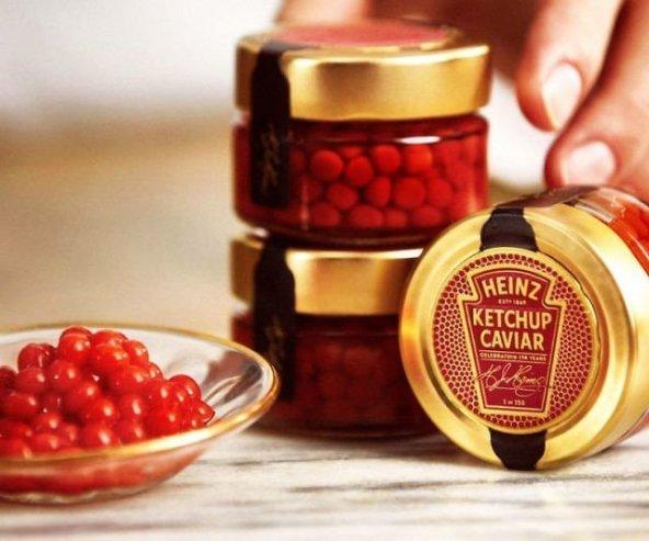 Feste e Anniversari Oggetti Fantastici  HeinzKetchupCaviar-Regalo Caviale di Ketchup Heinz