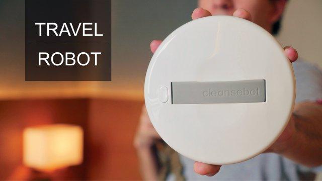 Robot Ammazza Batteri Cleansebot