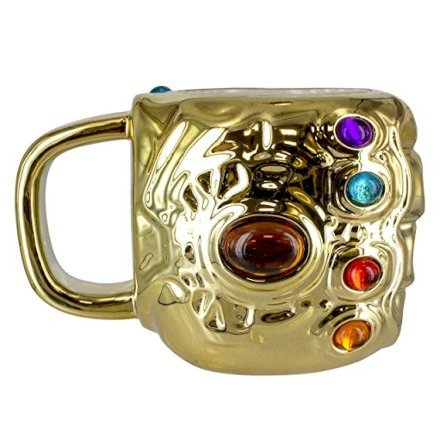 Gadget  MarvelAvengersInfinityWarTazzaInfinityGauntletCeram-Regalo Tazza Infinity Gauntlet da Avengers Endgame