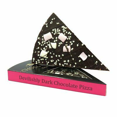 Gourmet Devilishly Cioccolata Fondente Pizza Fetta Belga Vegano