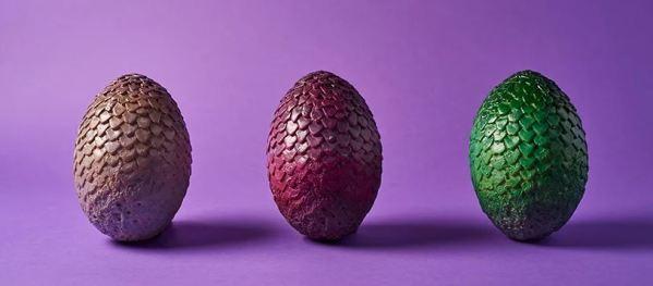 Oggetti Fantastici  uovaDIdrago Uova di cioccolato di Game Of Thrones