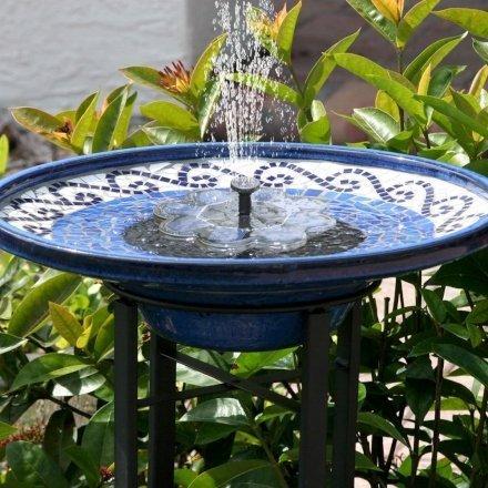 Casa & Ufficio  2019TekHomeFontanaD'acquaSolareFontanaperIlBagnoD-W440 Fontanella da giardino ad energia solare