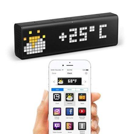Casa & Ufficio Gadget Oggetti Fantastici  LaMetricTime-OrologioWi-FiconApp-Regalo LaMetric Time - Orologio Smart