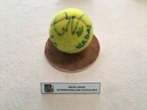 Palla da tennis autografata Rafael Nadal