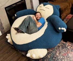Pokemon (Snorlax) gigante morbidoso