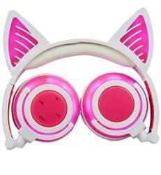 Cuffie con orecchie da gatto
