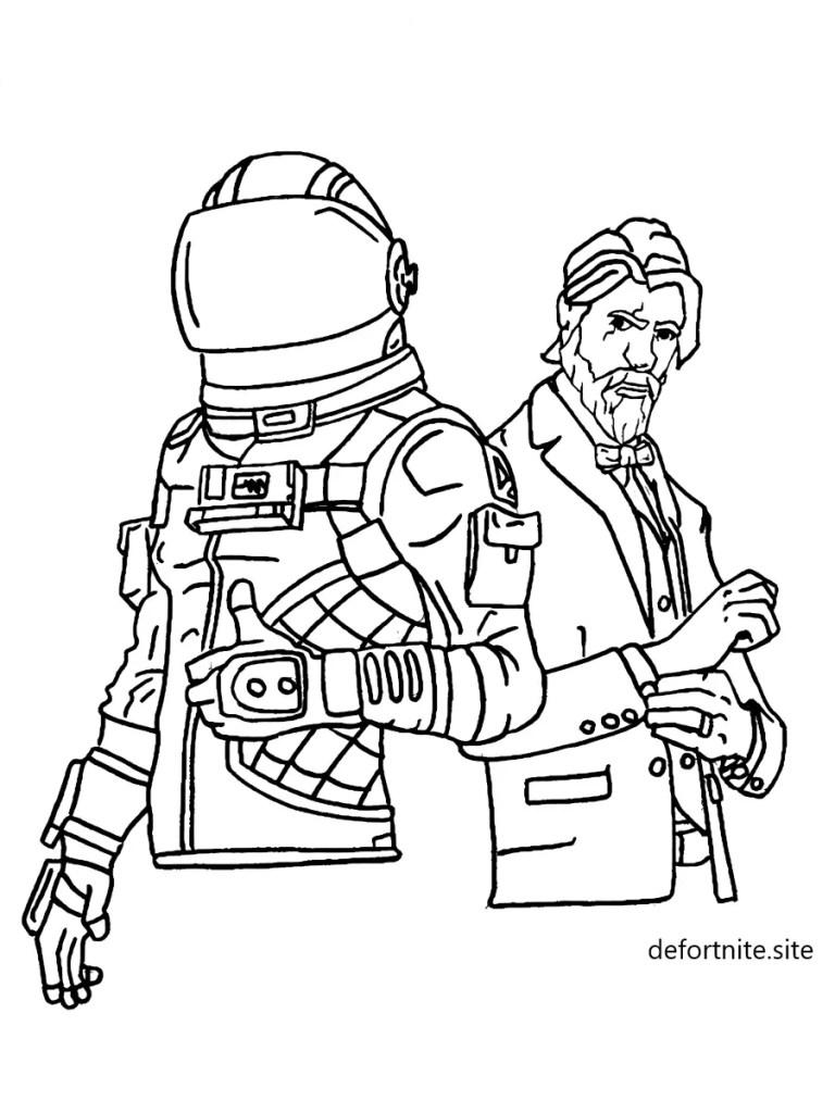 dibujo-john-wick-y-astronauta-fortnite-para-colorear-