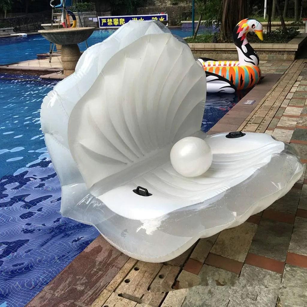 Flotador gigante concha