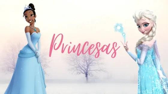 Princesas la vuelta al cole regalomolon.es