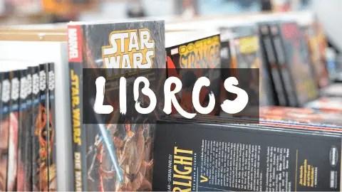 Libros y comics de la Guerra de las Galaxias. Librps y comics Star Wars. regalomolon.es