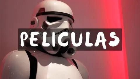 Peliculas de la guerra de las galaxias. Star wars. regalomolon.es