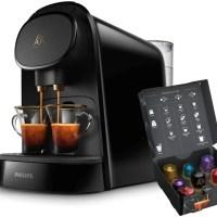 Cafetera L'OR barista de capsulas individual y doble. Amantes del café