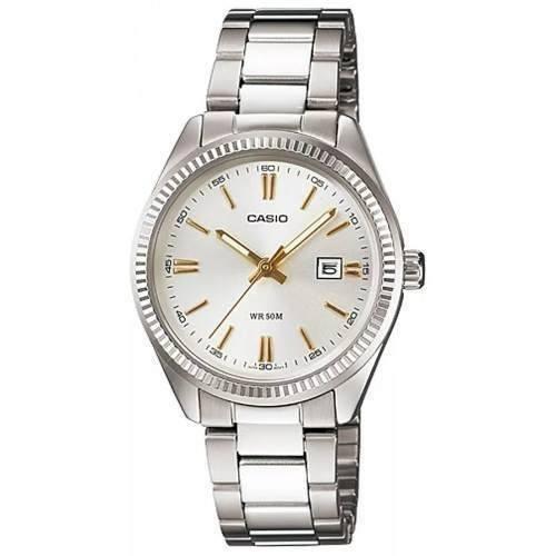 0a64843197d5 Reloj Casio Ltp-1302d-var Mujer Calendario 50m Sumergible - Regalos Alvear