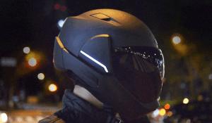 head up display casco moto